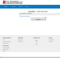 ryushare.com screenshot