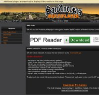 sa-mp.com screenshot