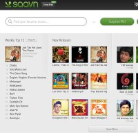 saavn.com screenshot