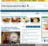 sacbee.com screenshot