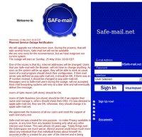 safe-mail.net screenshot