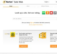 safeweb.norton.com screenshot