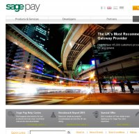 sagepay.com screenshot