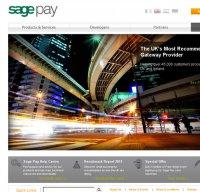 sagepay.com screenshot
