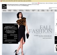 saksfifthavenue.com screenshot