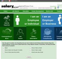 salary.com screenshot