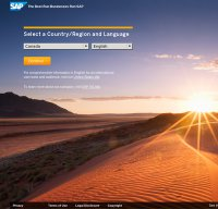 sap.com screenshot