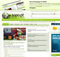 sapo.pt screenshot