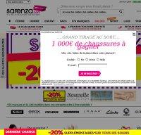 sarenza.com screenshot