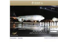 saudiairlines.com screenshot