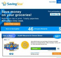 savingstar.com screenshot