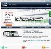 saxobank.com screenshot