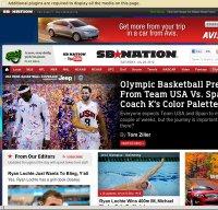 sbnation.com screenshot