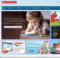 scholastic.com screenshot