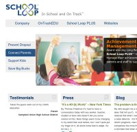 schoolloop.com screenshot