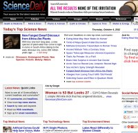 sciencedaily.com screenshot