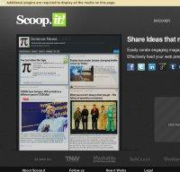 scoop.it screenshot