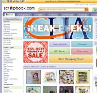 scrapbook.com screenshot
