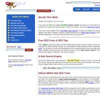 scrubtheweb.com screenshot
