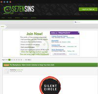 se7ensins.com screenshot