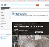 sears.com screenshot