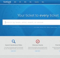 seatgeek.com screenshot