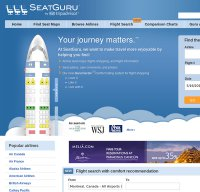 seatguru.com screenshot