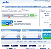 sedo.com screenshot