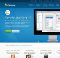 sencha.com screenshot