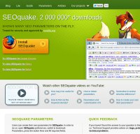 seoquake.com screenshot