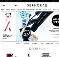 sephora.com screenshot