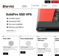 servint.net screenshot