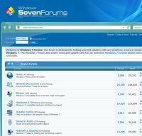 sevenforums.com screenshot