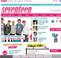 seventeen.com screenshot