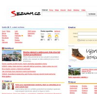 seznam.cz screenshot