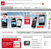 sfr.fr screenshot