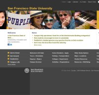 sfsu.edu screenshot