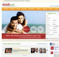 shaadi.com screenshot