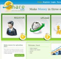 sharecash.org screenshot