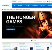 shaw.ca screenshot