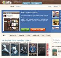 shelfari.com screenshot