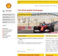 shell.com screenshot