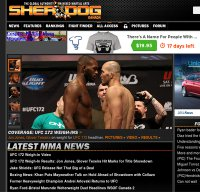 sherdog.com screenshot