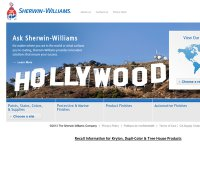 sherwin-williams.com screenshot