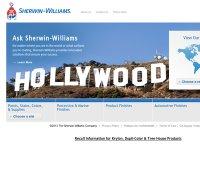 sherwin-williams.com screenshot