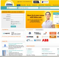 shine.com screenshot