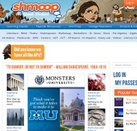 shmoop.com screenshot