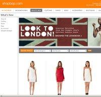shopbop.com screenshot
