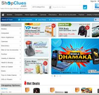 shopclues.com screenshot