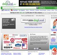 shoplocal.com screenshot